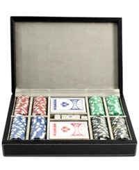 Bey Berk All Inclusive Leather Poker Set No Color