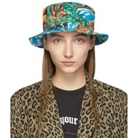 R 13 R13 Blue Wave Island Bucket Hat