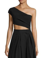The Row Arno Crop Top Black