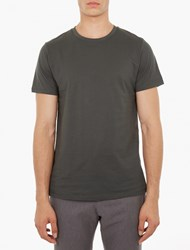 A.P.C. Olive Cotton T Shirt