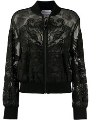 Red Valentino Embroidered Bomber Jacket 60
