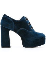 Marc Jacobs 'Beth' Oxford Platform Pumps Blue