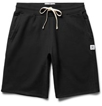 Reigning Champ Loopback Cotton Jersey Drawstring Shorts Black