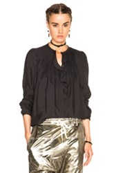 Isabel Marant Pleyel Blouse In Black