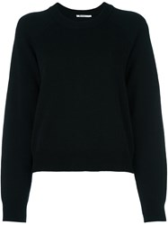 Alexander Wang T By Crew Neck Sweater Black