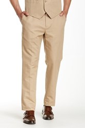 Perry Ellis Slim Fit Pant Beige