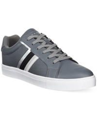 Sean John Capri Perforated Sneakers Men's Shoes Charcoal