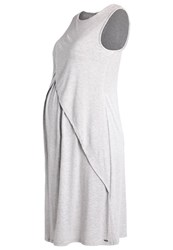 Bellybutton Jersey Dress Lichtgrau Melange Mottled Light Grey
