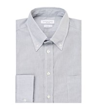 Richard James Cotton Piquet Shirt Male Grey