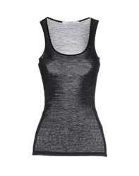 Jucca Topwear Vests Women Black