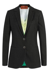 Missoni Blazer With Metallic Detail Black
