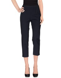 Ql2 Quelledue Ql2 Quelledue Trousers Casual Trousers Women Dark Blue