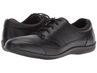 Revere Orlando Black Stretch Women's Lace Up Casual Shoes