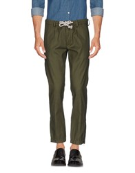 Paolo Pecora Trousers Casual Trousers Military Green