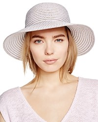 Eric Javits Packable Squishee Iv Short Brim Sun Hat White Mix
