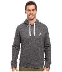 Nautica Pullover Hoodie Charcoal Heather Men's Sweatshirt Gray