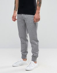Armani Jeans Cuffed Joggers With Logo In Grey Grey