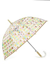 Shedrain 'The Bubble' Auto Open Stick Umbrella Metallic Party Gold