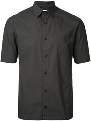 Christophe Lemaire Shortsleeved Shirt Black