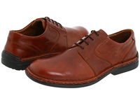 Josef Seibel Walt Roma Brandy Men's Lace Up Casual Shoes Brown