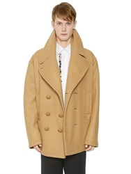 J.W.Anderson Oversize Wool Cloth Peacoat
