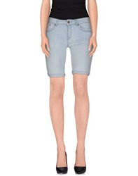 Superdry Denim Denim Bermudas Women