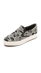 Belle By Sigerson Morrison Saras Slip On Sneakers Black Black