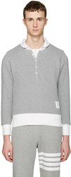 Thom Browne Grey Collection Polo