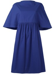 Gianluca Capannolo Flared Large Dress Blue
