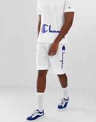 Champion Shorts With Logo In White
