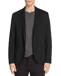 Atm Anthony Thomas Melillo Ponte Knit Slim Fit Blazer Black