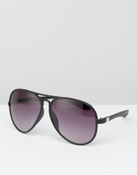 Jeepers Peepers Aviators With Black Frame Black Rubber