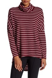14Th And Union Cozy Turtleneck Tunic Red