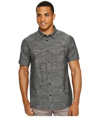 O'neill Walkabout Short Sleeve Woven Black Men's Clothing