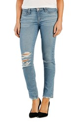 Women's Paige Denim 'Skyline' Destroyed Ankle Peg Skinny Jeans Brynlee