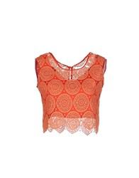 Related Tops Coral