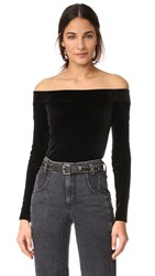 Bailey 44 Veronica Off Shoulder Top Black