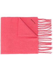 Acne Studios Boiled Scarf Pink
