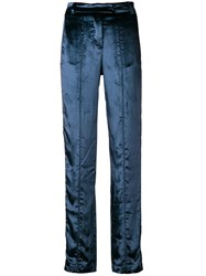 F.R.S For Restless Sleepers Straight Leg Trousers Blue