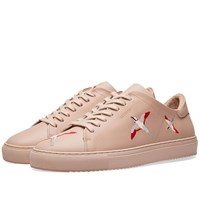 Axel Arigato Clean 90 Bird Embroidery Sneaker Pink