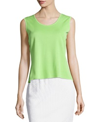 Ming Wang Sleeveless Scoop Neck Shell Dragon