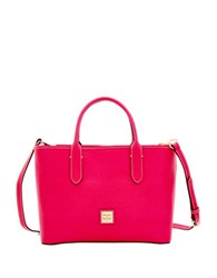 Dooney And Bourke Brielle Leather Crossbody Bag Hot Pink