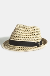 Tommy Bahama Braided Paper Fedora Natural
