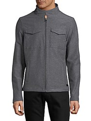 Civil Society Knit Jacket Heather Grey