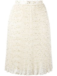 Carven Carin Skirt Nude Neutrals