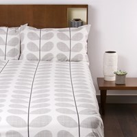 Orla Kiely Scribble Soft Duvet Cover Concrete Super King