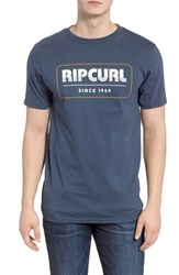 Rip Curl Bowie Classic T Shirt Navy
