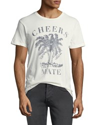 Sol Angeles Cheers Mate Graphic T Shirt White