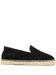 Manebi Hamptons Espadrilles Black