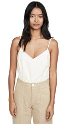 Amanda Uprichard Bourbon Bodysuit White